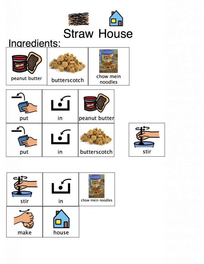 Straw House Recipe